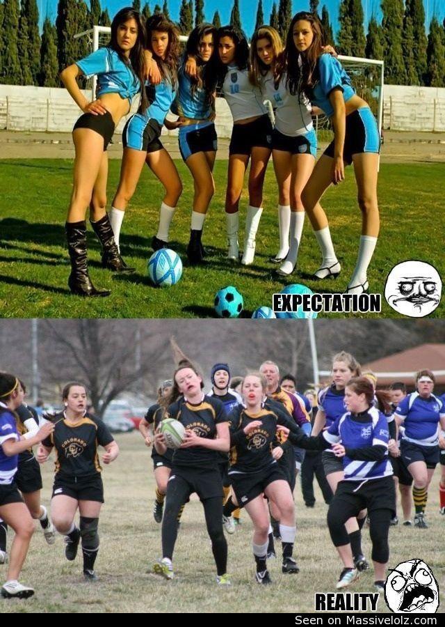 funny image Women football
